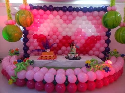 Balloon decoration training comes to lagos and abuja for Balloon decoration courses